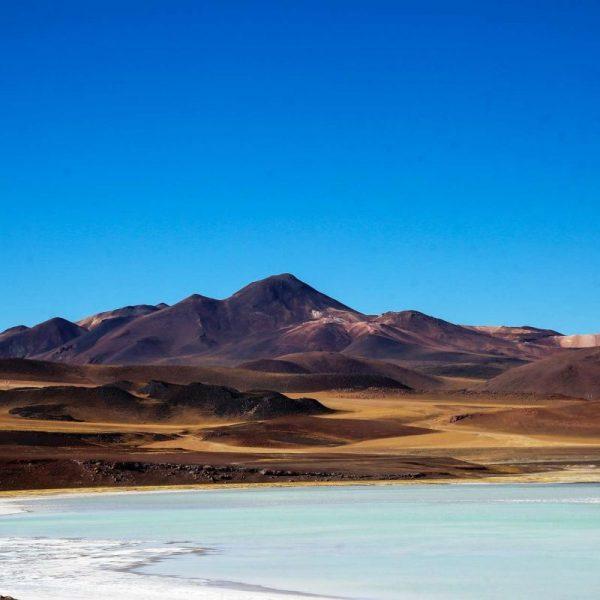 озера и горы в Атакаме
