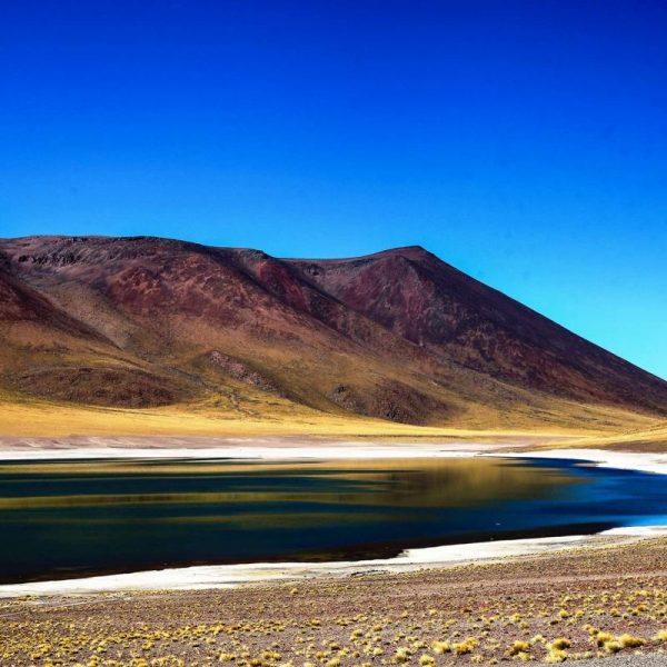 Цветные горы в Чили