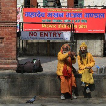 Паломники Садху, Катманду