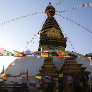 Катманду, Самая большая ступа