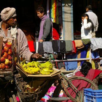Рынок на улице, Катманду