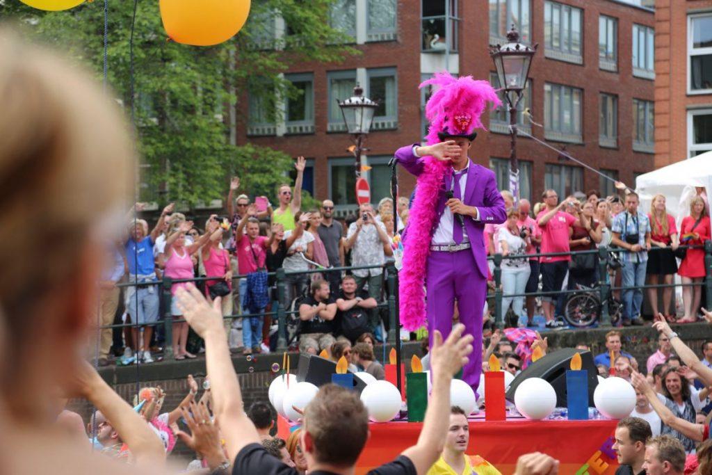 Амстердам, парад
