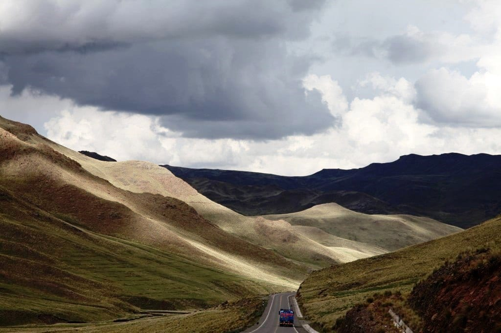Дорога-в-Пуно, Перу