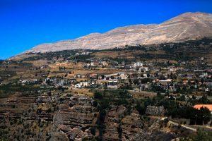 Склоны ущелья Ливана