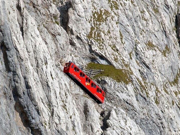 Альпийский транспорт в горах