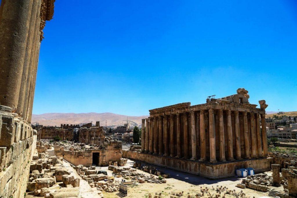 Бейрут, Ливанские руины