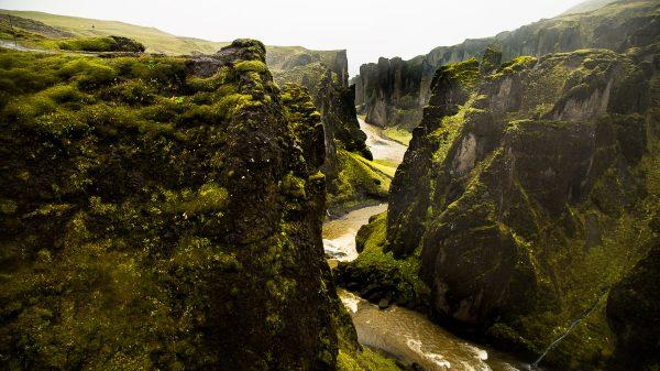 Исландия, каньон Фьядрарглюфур