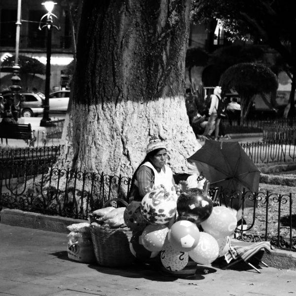 Продавщица в Боливии