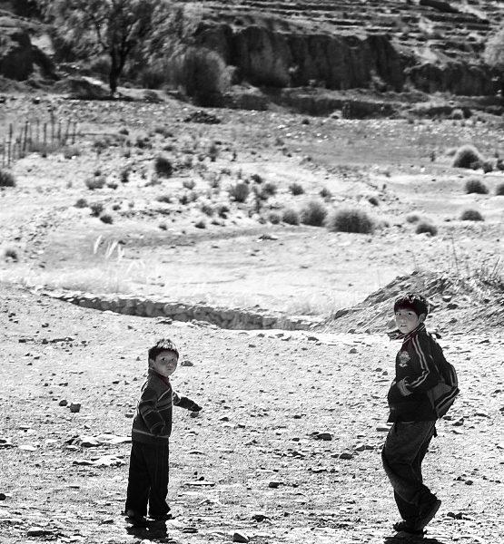 Боливийские дети
