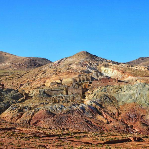 Старое поселение в Боливии
