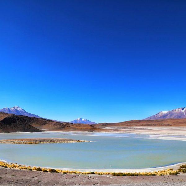 Озеро в Лагуне Верде, Боливия