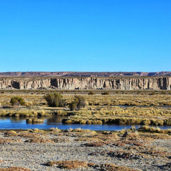 Виды Боливии, горы и вода