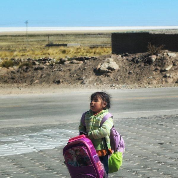 Боливийская девочка
