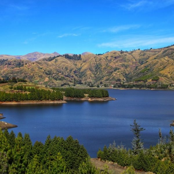 Виды Боливии, озеро