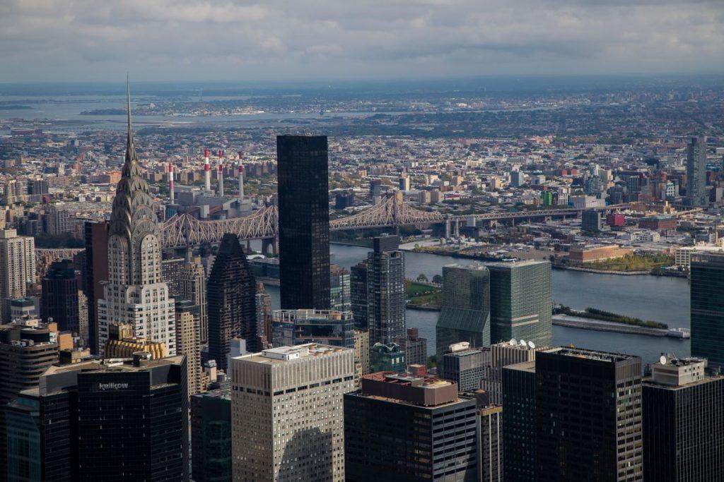 США, высотки Нью-Йорка