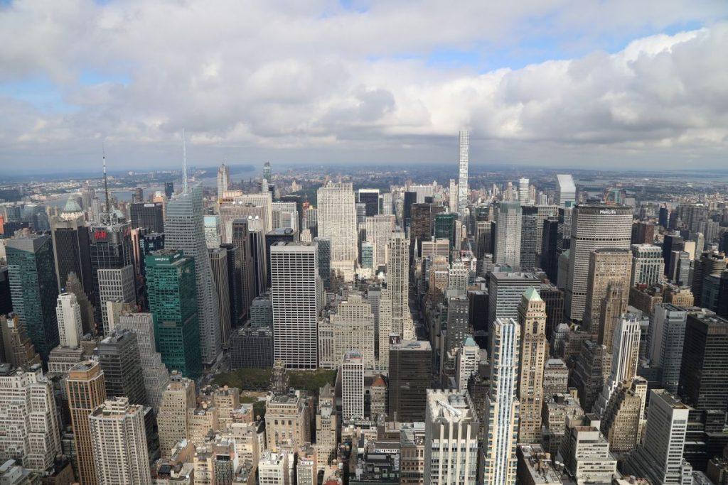 США, небоскрёбы Нью-Йорка