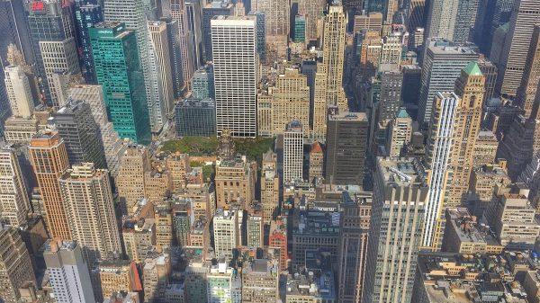 США, Нью-Йорк, небоскрёбы