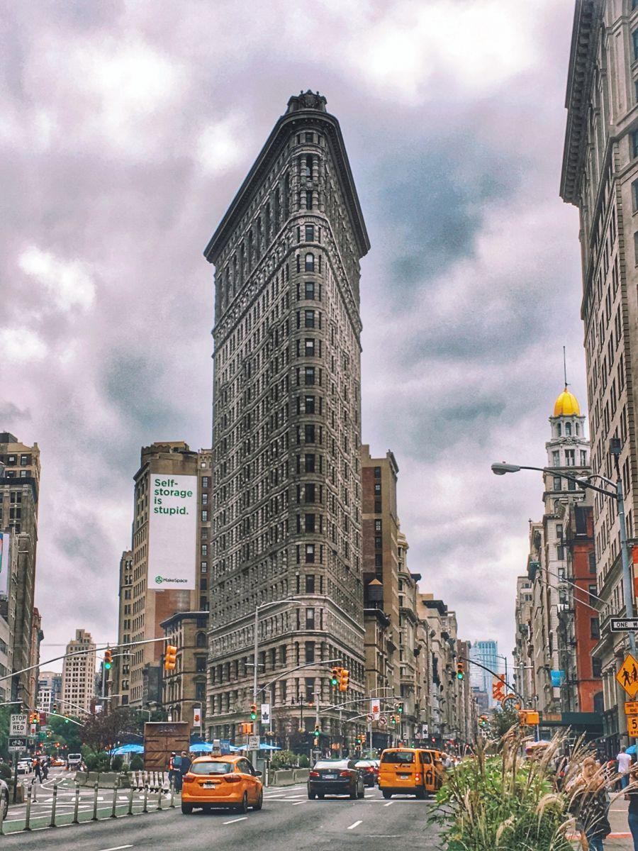 США, такси Нью-Йорк