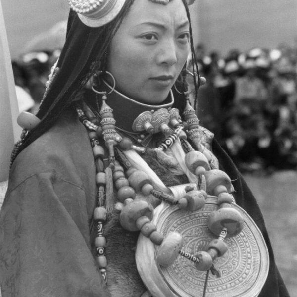 Народный тибетский костюм