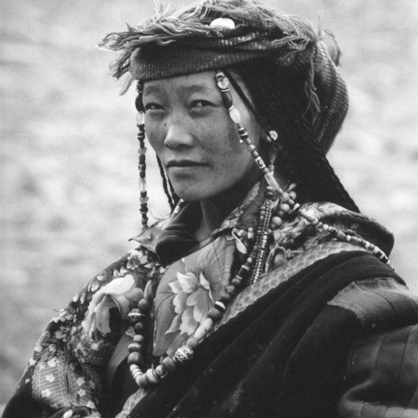 Женщина из Тибета