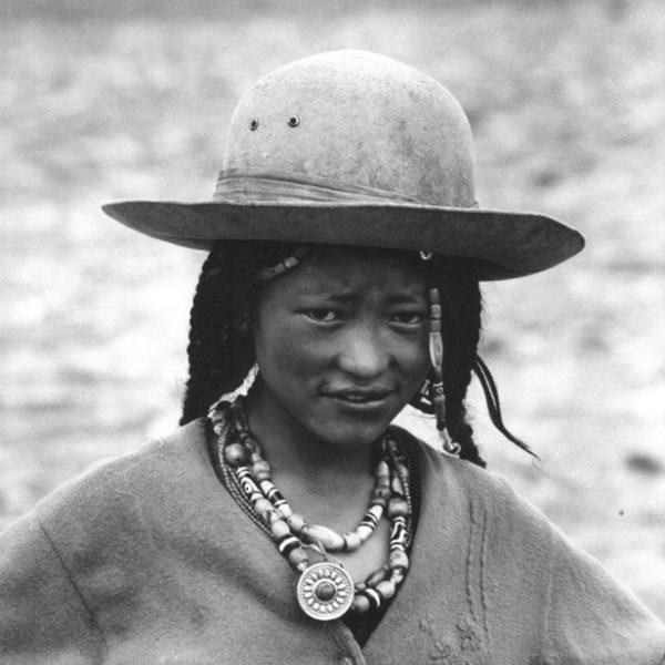Девушка Тибета