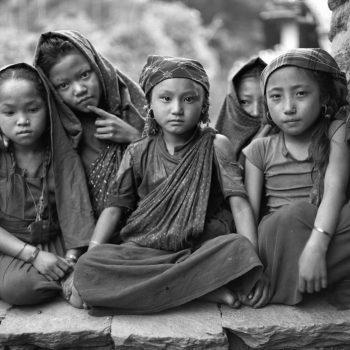 Фото, дети Непала