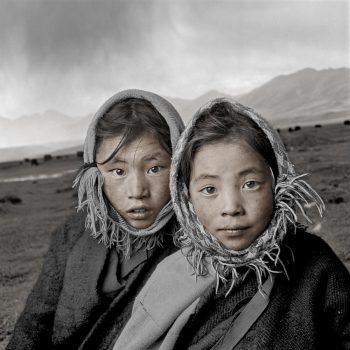 Тибетские девочки