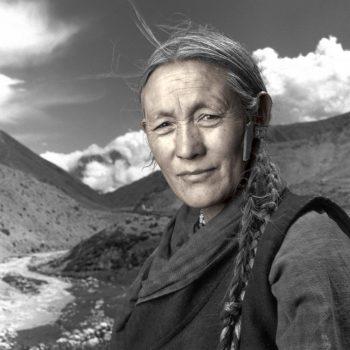 Тибетская женщина