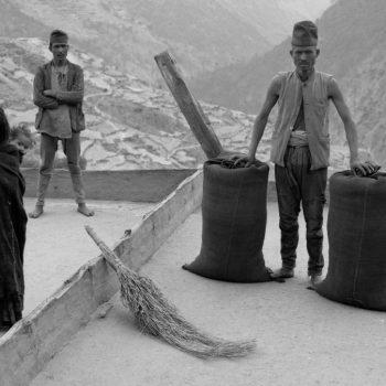 Фото, Непал, Мужчины и девочка