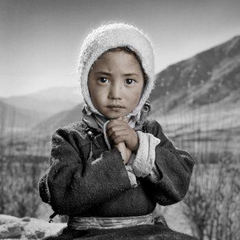 Малышка в Тибете