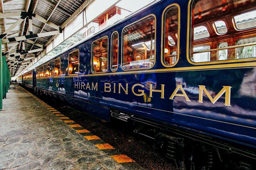 Перу, поезд Hiram-Bingham-Orient-Express-Peru