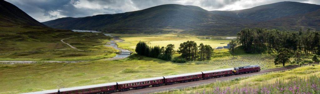роскошный поезд Royal-Scotsman