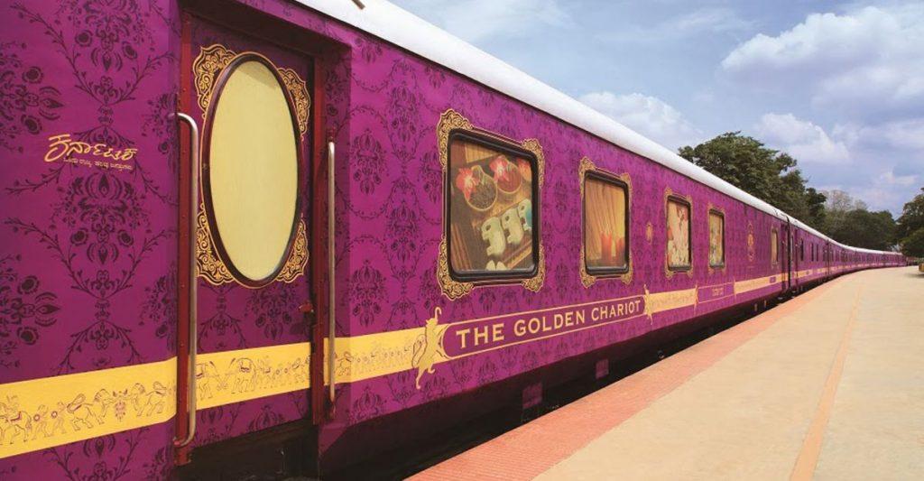 поезд goldern-chariott