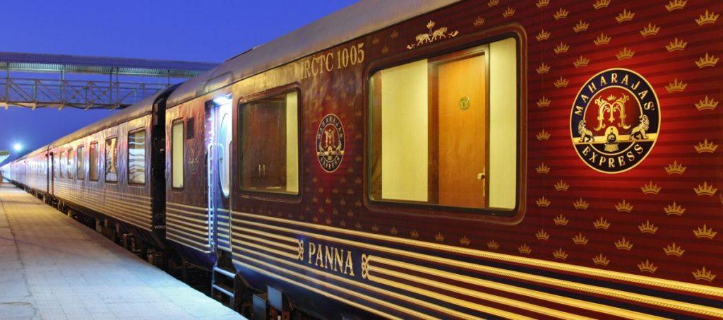индийский поезд Maharajas Express