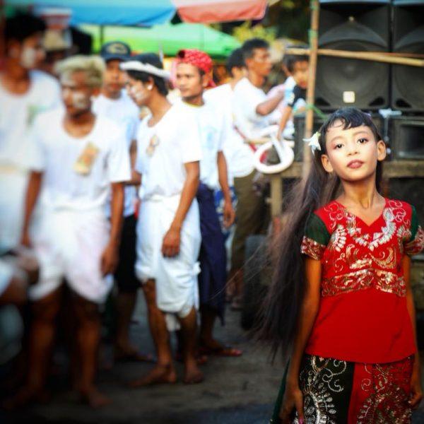Праздник в Мьянме, Янгон