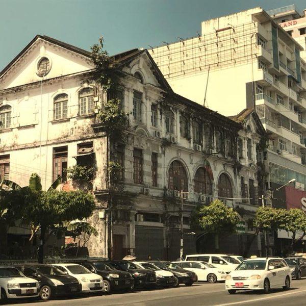 лицы Янгона