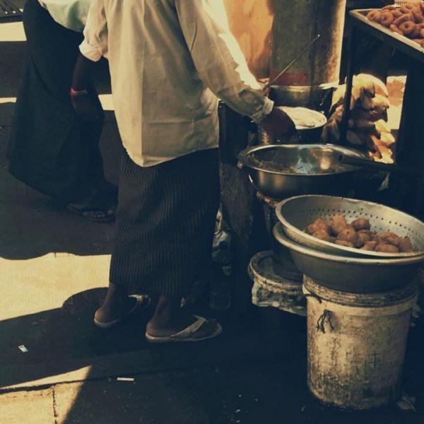 Рынок в Мьянме