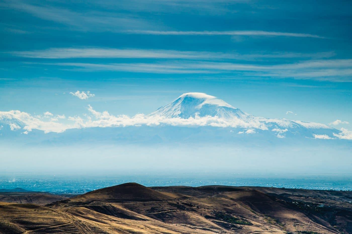 Вид на Арарат-Армения