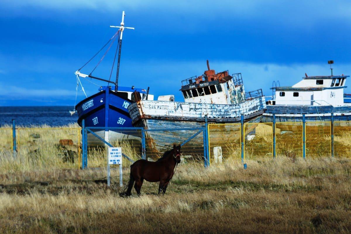 Аренас, старые корабли