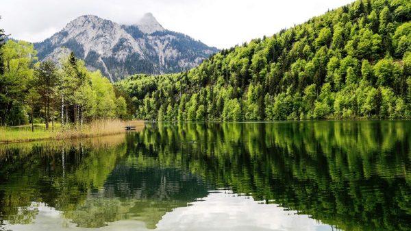 Бавария, озеро