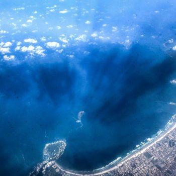 Бразилия, вид с высоты на Рио-Де-Жанейро