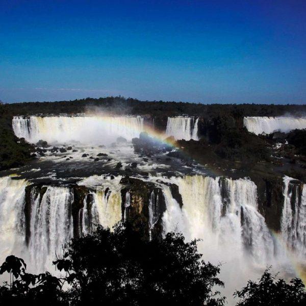 Водопад в Бразилии