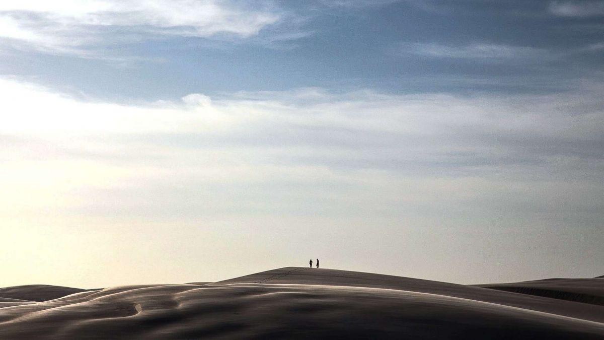 Бразилия, пустыня с лагунами