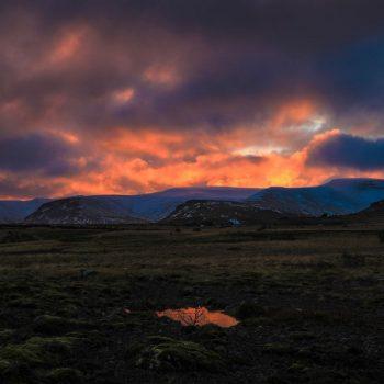 Восход в Исландии