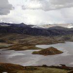 Виды гор в Пуно, Перу