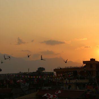 Катманду, закат