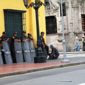 Полиция в Лиме, Перу