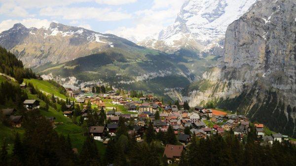 Мюррен, Швейцария