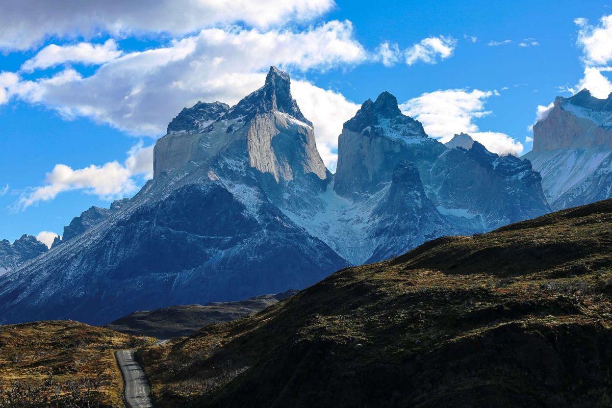 Фото гор в Патагонии, Чили