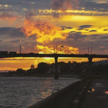 Кострома, Россия, закат